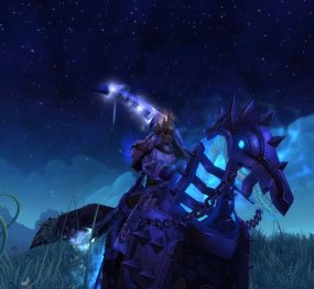 Rho (@RhoWoW) on his Ironbound Wraithcharger