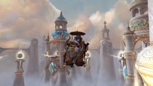 Cinder on a flying yak!