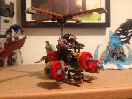 Moogyver's Megablock Turbo Charged Flying Machine!