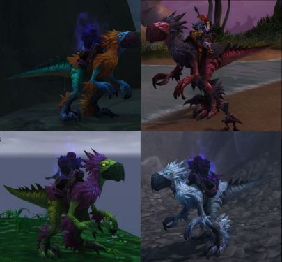 Sivation on all 4 raptor mount