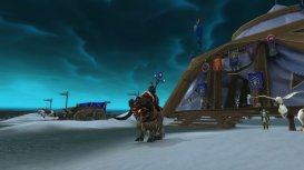 Ann in Wonderland on her ner Ironforge Ram mount #170