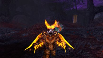 Cinder gets fierce with her Blazing Wings on!