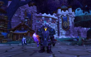 "Professor Moriarty's new ""scary paladin"" transmog"