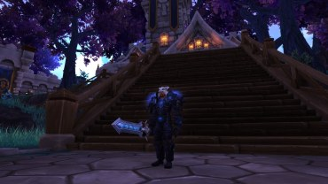 Winterwolf's Blood Death Knight transmog for Winterwolf