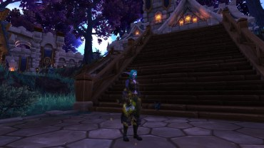 Winterwolf's Feral Druid transmog for Zelay