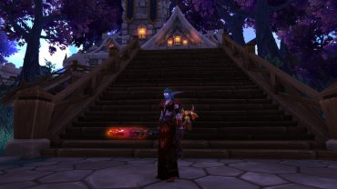 Winterwolf's Fire Mage transmog for Amarice (WiP)