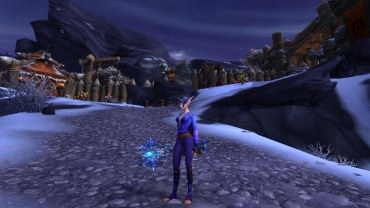 Winterwolf's Frost Mage transmog for Tarecgosa