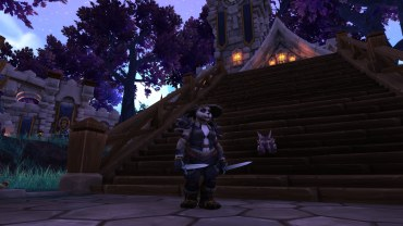 Winterwolf's windwalker monk transmog for BlueLotus
