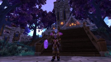 Winterwolf's Retribution Paladin transmog for Adeelah (WiP)