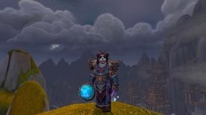Cinder's latest restoration shaman transmog