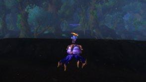 Gildina on her 295th mount, the Fathom Dweller