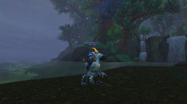 Gildina on her 296th mount, the Snowfeather Falcosaur