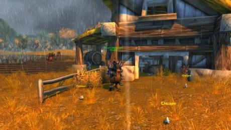 Knave presents - a werewolf on a chicken!! :D