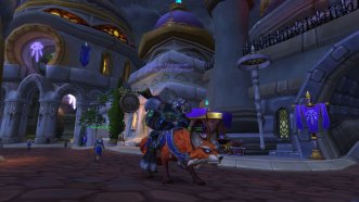 Moogyver on his Fox mount!