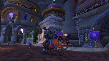 Moogyver on his Fox mount!