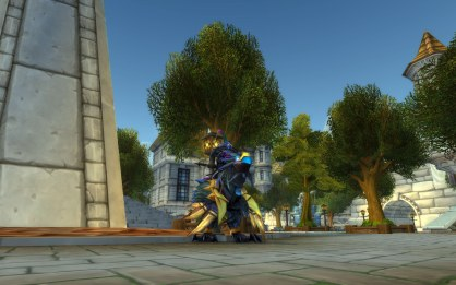 Elgaric on his Raven Lord! Congrats!