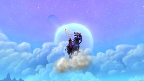 Thyst on her Swift Windsteed